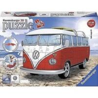 3 D Puzzels - Vervoermiddelen uit kunststof - VW Busje