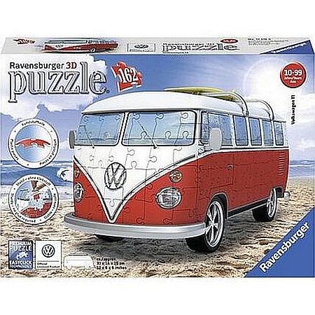 3D Puzzel autobus VW
