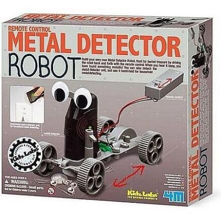 metaaldetector robot